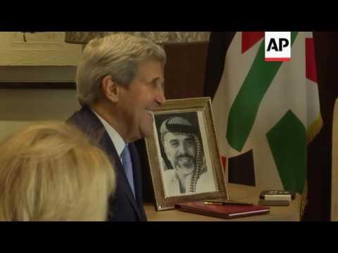 Kerry meets King of Jordan