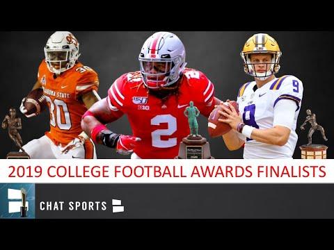 2019 College Football Awards: Finalists & Predictions For Maxwell, Davey O'Brien & Biletnikoff