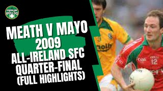 Meath v Mayo 2009 All-Ireland SFC Quarter Final