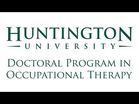 Huntington University's OTD White Coat Ceremony - 1.22.2021