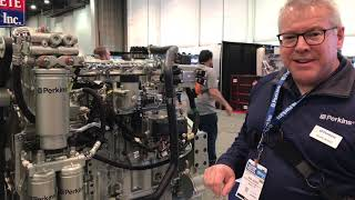 Video still for Perkins Showcases 1706J Engine at World of Concrete 2019