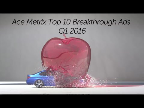 Ace Metrix Top Breakthrough Ads Q1 2016