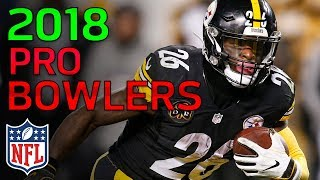 NFL 2018 Pro Bowlers Revealed! | NFL Highlights thumbnail
