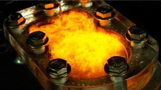 See Through Engine - Slow Mo (P.2) Tequila, 151, Propane -Visible Internal Combustion - 4K