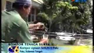 Kompor Tenaga Matahari Buatan INDONESIA.