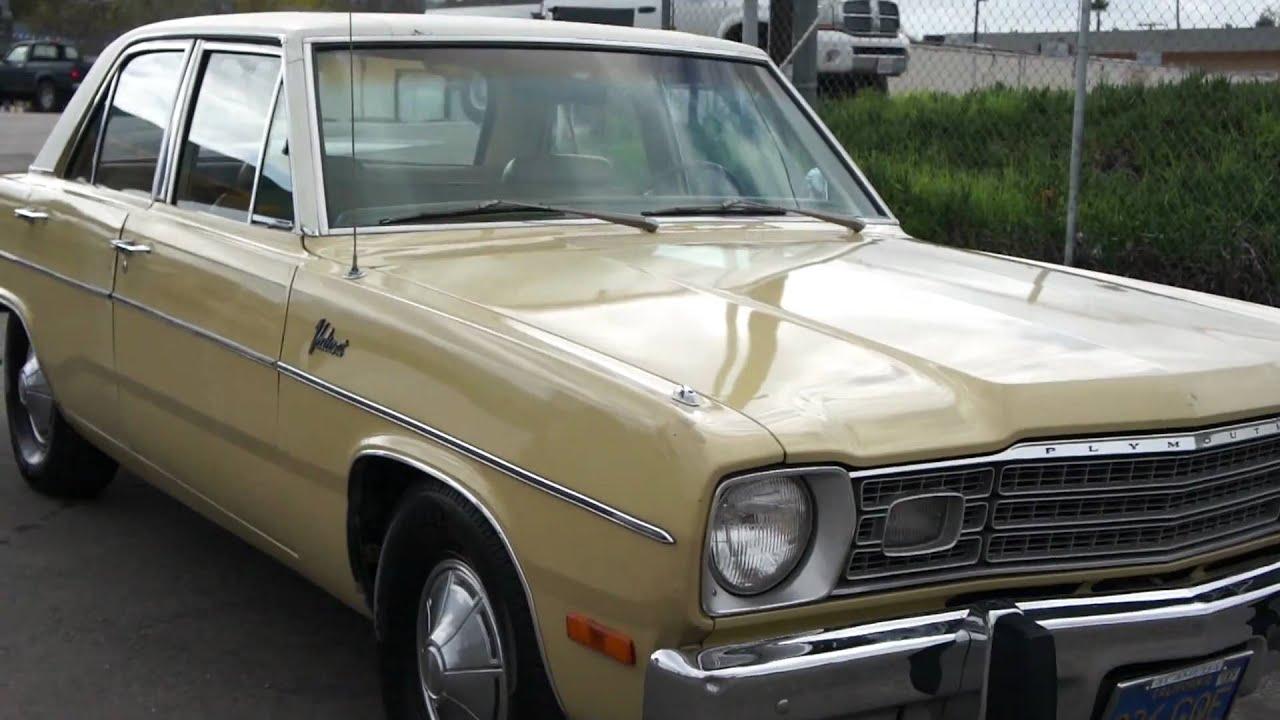 1973 valiant mopar 1 owner 17 000 original miles youtube. Black Bedroom Furniture Sets. Home Design Ideas