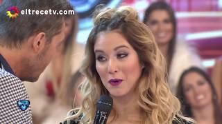 Flor Vigna deschavó una relación que tuvo su novio con una de las bailarinas de Showmatch