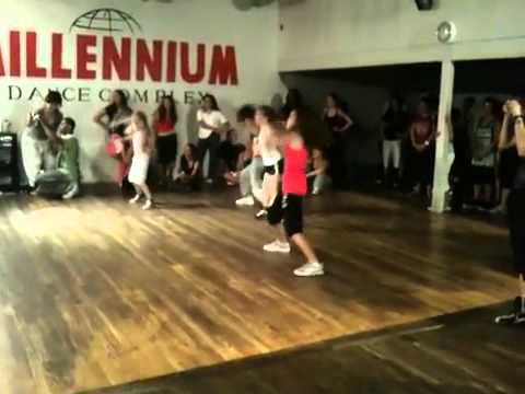 Madison Pettis dances to