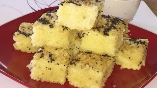 Instant Khatta Dhokla Video Recipe by Bhavna   Rava Dhokla Recipe