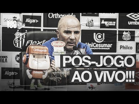 JORGE SAMPAOLI | PÓS-JOGO AO VIVO | BRASILEIRÃO (28/07/19)