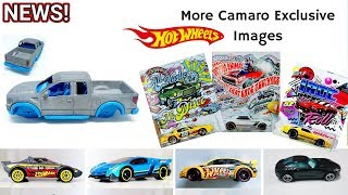 2018 Walmart Exclusives Hot Wheels Camaro Series, Multipacks, Prototypes And More News #78
