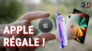 APPLE GÉNÉREUX ! - 5 Choses à Savoir sur la Conférence d'Apple d'avril 2021