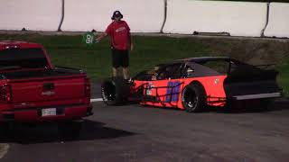 ace speedway 602 modified drew moffit qualifying 9/15/17