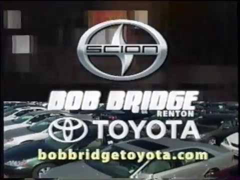 Bob Bridge On Toyota Scion Car Dealership Commercial Local Seattle 2007