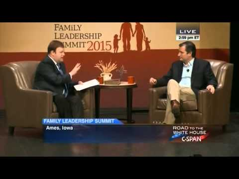 Ted Cruz at the Family Leadership Summit