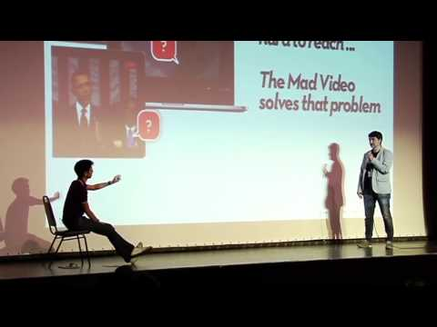 Elevator Pitch Competition - with Brian Wong.Koldo García - The Mad Video