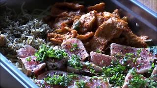 Pan Seared Ahi Tuna Steak....Party Tray