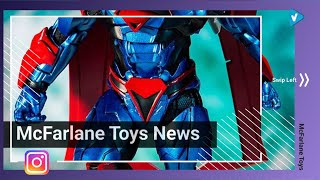 #McFarlane Toys News: Superman: Unchained Armor has arrived.