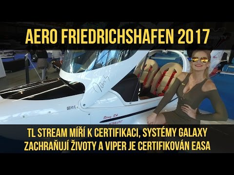 AERO FRIEDRICHSHAFEN 2017 (7/8) – TL-Ultralight, Galaxy GRS a Tomark (www.airzone.tv)
