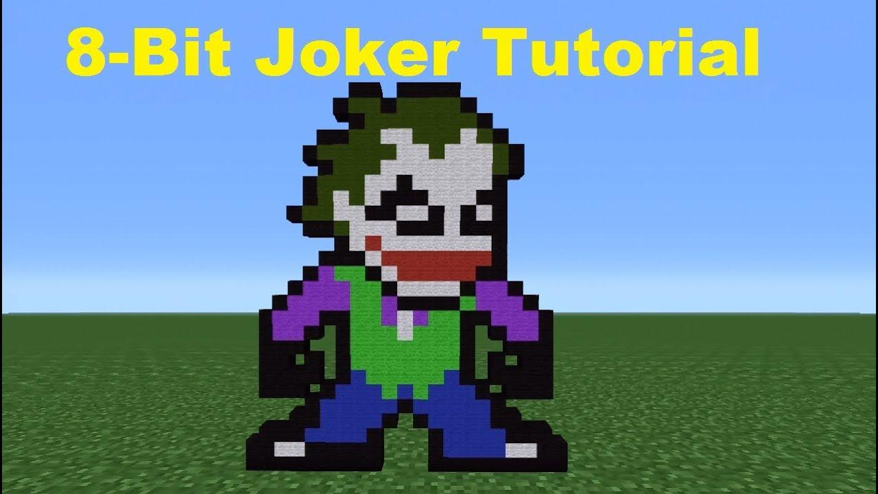 Minecraft 360: How To Make The Joker *Remake*