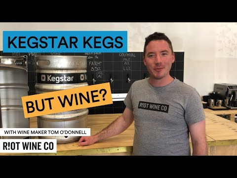 wine article Lets Talk Wine  Stainless Steel Kegs
