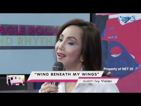 IVY VIOLAN - WIND BENEATH MY WINGS (NET25 LETTERS AND MUSIC)