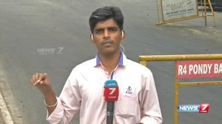 Breaking News : Slippery motorcycles in chennai Valluvar kottam : Many motorists hurt