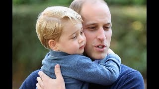 Palace Tweets adorable picture of William and George to Celebrate Father's day