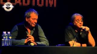 Deep Purple - Ian Gillan & Ian Paice - Press Conference - Paris 2013  - TV Rock Live