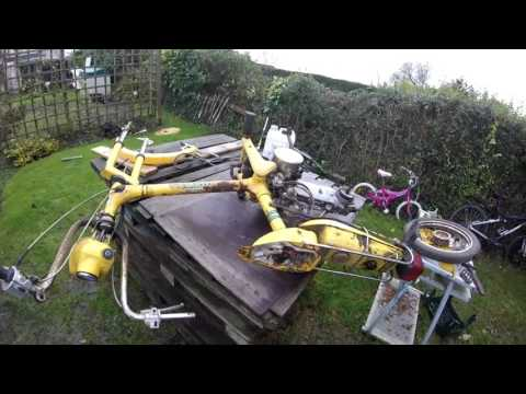 Honda Express NC50 Project Part 1 of 5