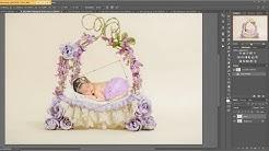 HOW TO USE DIGITAL BACKDROPS Easy Tutorial using digital backdrop, newborn composite