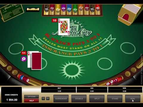 Blackjack atlantic city microgaming - ExtraBonuscasino.com