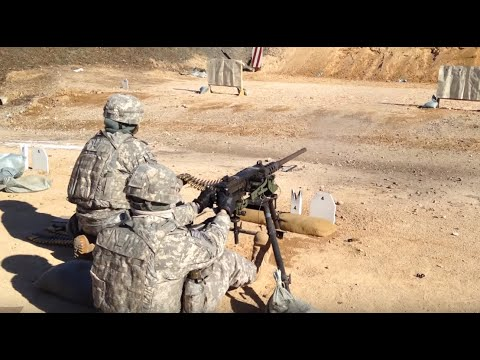 .50 Cal Zero and Full Auto Shredding Target