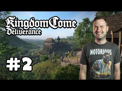 Sips Plays Kingdom Come: Deliverance (13/2/18) - #2 - Horse Chase