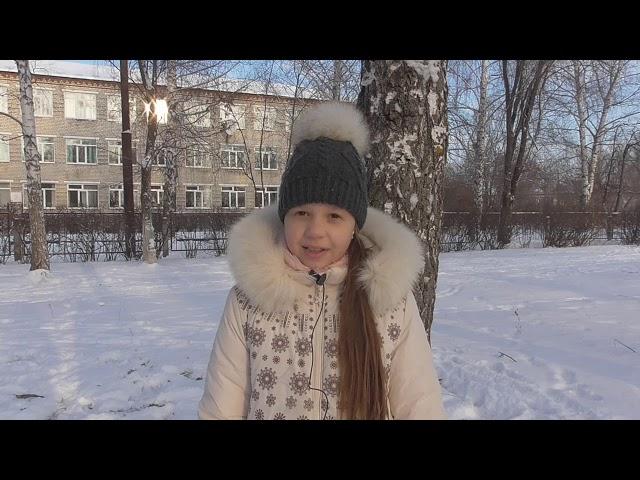 Изображение предпросмотра прочтения – ЮлианаКраснова читает произведение «Весна (Зима не даром злится…)» Ф.И.Тютчева