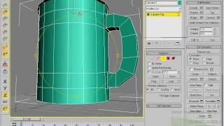 Моделирование кружки в 3d max(Хотите получать самые лучшие видеоуроки от сайта 3d-freedom на свой email? Зайдите на сайт и подпишитесь на рассылк..., 2010-02-26T09:12:19.000Z)