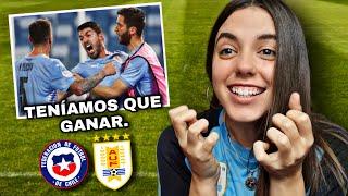 URUGUAY vs CHILE | Reacción de HINCHA URUGUAYA | Copa América 2021