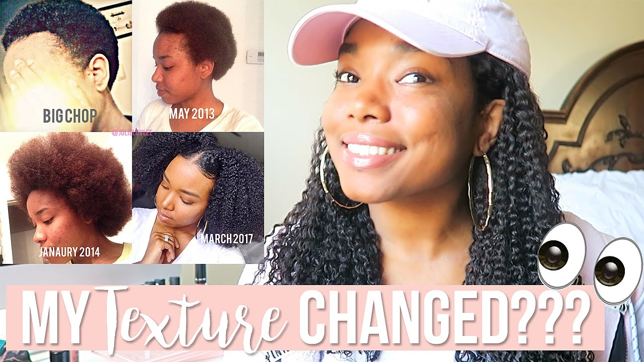 My Texture Changed 👀 Natural Hair Youtube