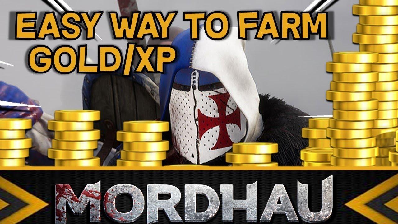 How to Farm XP and Gold -- Mordhau
