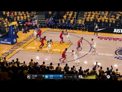 NBA LIVE 19 RAPTORS Vs WARRIORS NBA FINALS GAME 3 LIVE STREAM