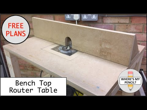 Bench top router table build free plans youtube bench top router table build free plans greentooth Image collections