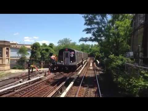 ᴴᴰ R1-9 M Train RFW Footage - Myrtle Avenue-Metropolitan Avenue
