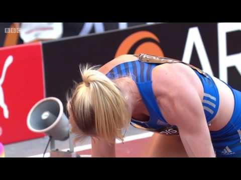 Sally Pearson wins 100m Hurdles - Manchester Great City Games 2017