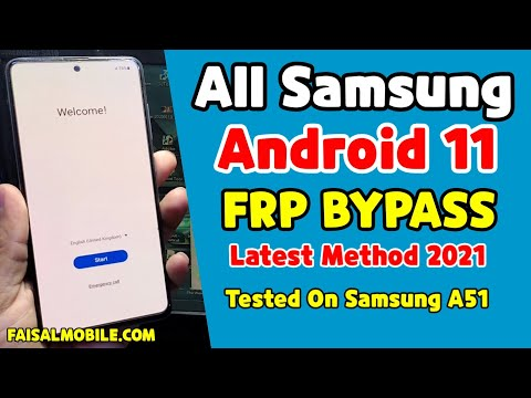 All Samsung Android 11 Frp Bypass Latest Method 2021 Samsung A51 Google Account Bypass Free Tool