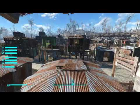 Sim Settlements - Star Light City - heavily modded city