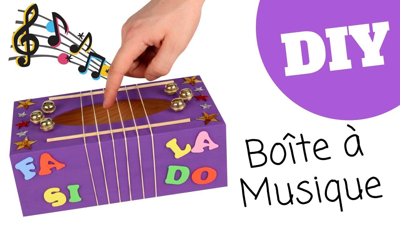 Tutoriel diy fabriquer une bo te musique pour enfants youtube - Boite a mouchoirs maison ...