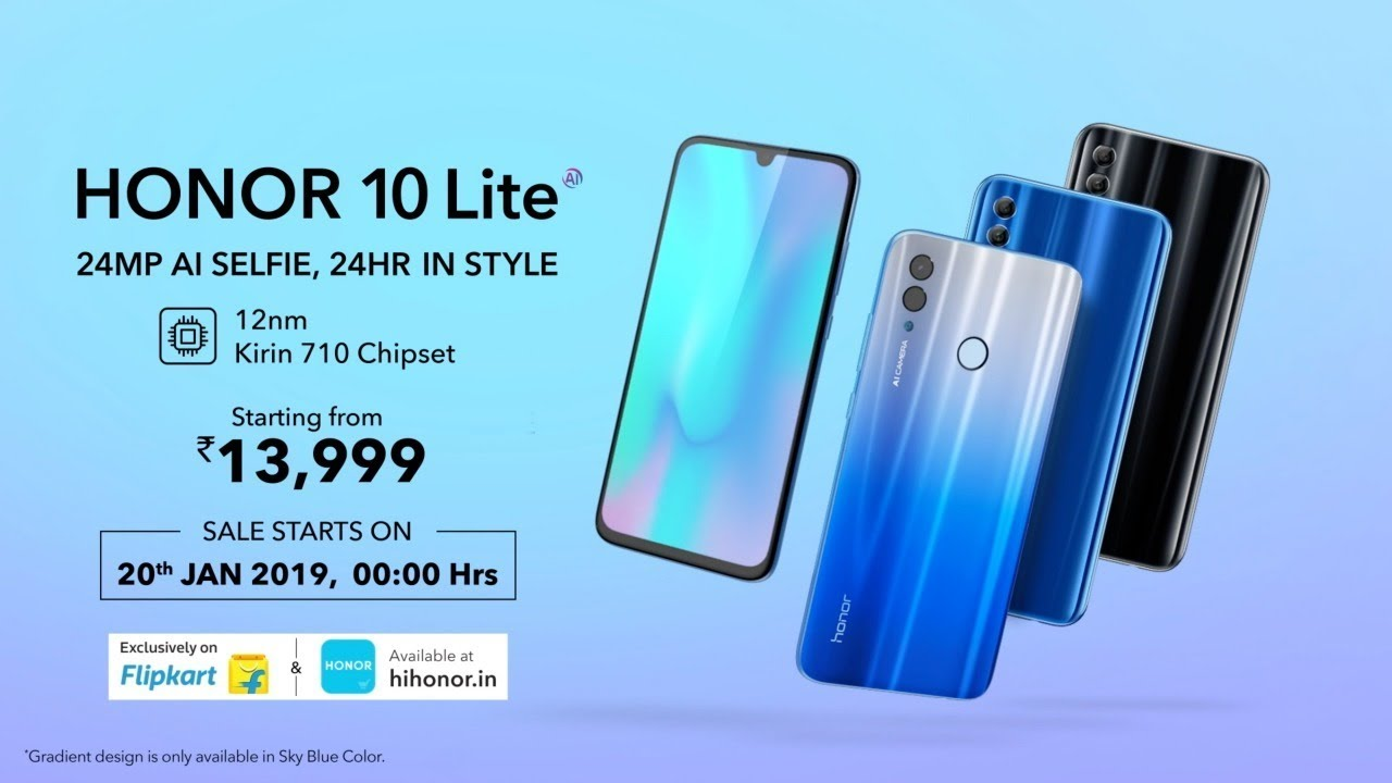 Top phones under Rs 15,000 for January 2019: Honor 10 Lite