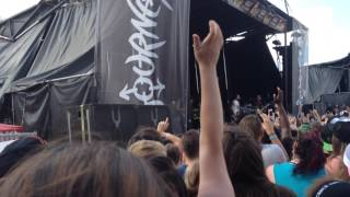 Falling in Reverse - I'm Not a Vampire [Live]