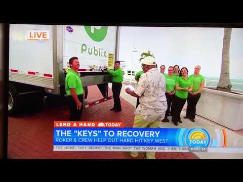 Today Show and Lowes helping first responders in Key West