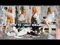 How to style : UGLY SNEAKERS || LV Archlight , Fila Disruptor, Triple S